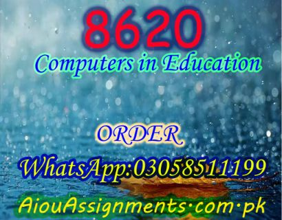 8620 Computers in Education Bed Spring 2019