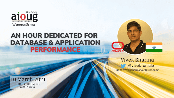 An hour dedicated for Database & Application Performance