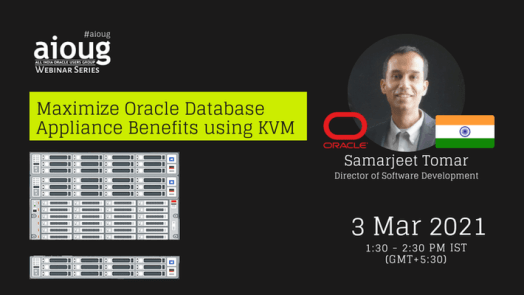 Maximize Oracle Database Appliance Benefits using KVM