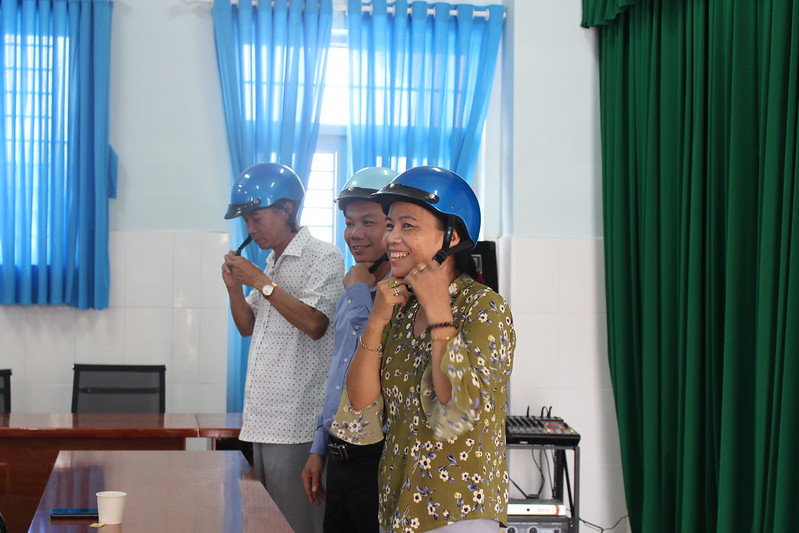 200 teachers and parents inspired to encourage children helmet use in Ho Chi Minh city through Safety Delivered