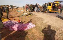 16 قتيل وأكثر من 20 جريح في حادث مرور بسعيدة