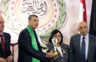 المخرج المسرحي و السينمائي قادة قبيز يتالق بحصوله على الجائزة الاولى عربيا في الابداع الفني