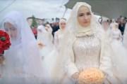 حفل زفاف جماعي في غروزني