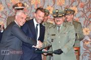 إمضاء عقـود تأسيـس الشـركة الجزائرية الإيطالية لإنتاج حوامات من علامة