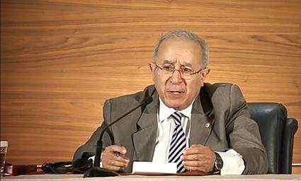 رمطان لعمامرة : التدخل في الشؤون الداخلية للجزائر مرفوض