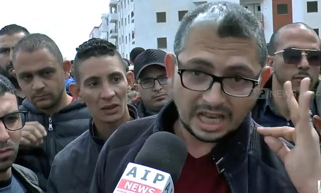 قسنطينة.. شاهد مكتتبو عدل 2  يحتجون بمنطقة الرتبة بديدوش مراد