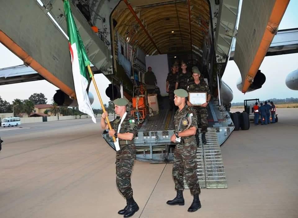 المنتخب الوطني العسكري يعود إلى أرض الوطن