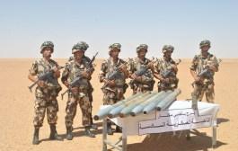 الجيش الوطني يكتشف مخبأ للأسلحة قرب الشريط الحدودي الجنوبي بتمنراست.