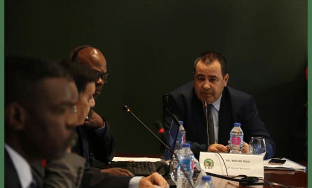 الأمين العام للكاف يفتتح ورشة عمل الأمن والسلامة لكأس الأمم تحت 23 سنة