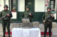 الجيش في عمليات نوعية :مكافحة الارهاب والتهريب والجريمة المنظمة في مختلف ولايات الوطن.