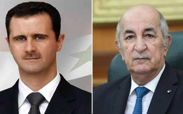 الجزائر و سوريا : بيان لرئاسة الجمهورية الجزائرية.