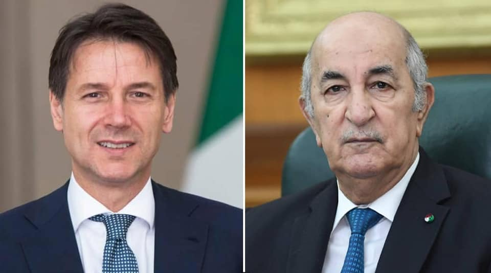 الجزائر إيطاليا : بيان رئاسة الجمهورية.