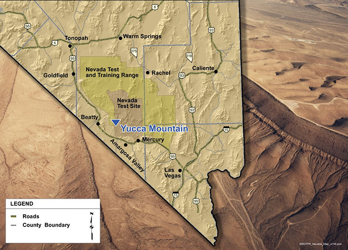 Sciences Role in Yucca Mountain Debate Highlighted at