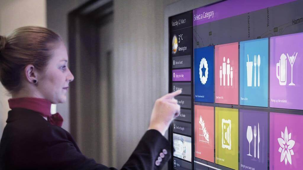 New technologies in hospitality