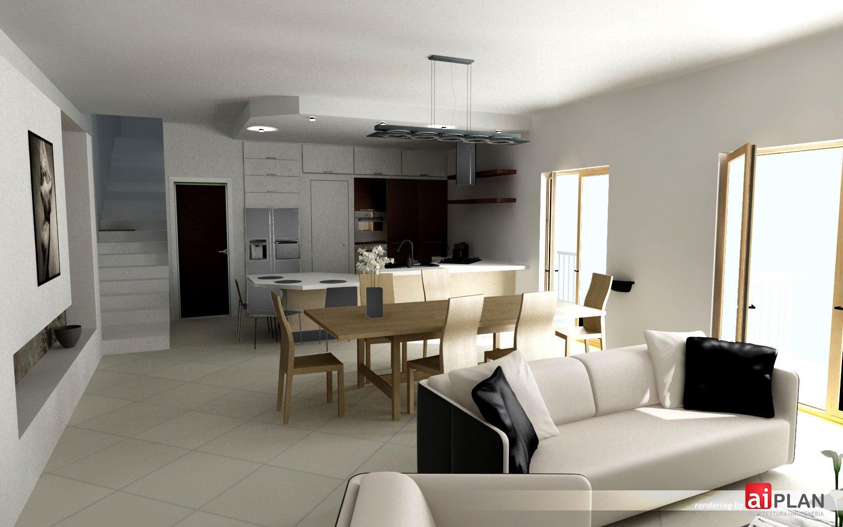 interni di residenze  Aiplan  architettura e ingegneria