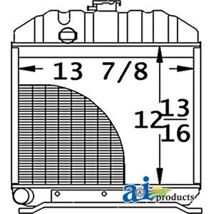 Kubota L275 Radiator
