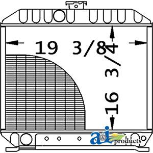 Kubota L5450DT Radiator