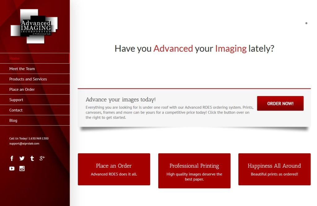 Advanced Imaging Grand Re-Launch Sale