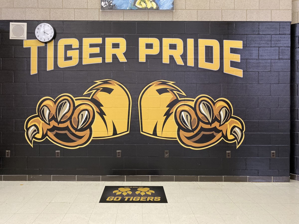 Joliet West Floor Graphic and Wall Mural