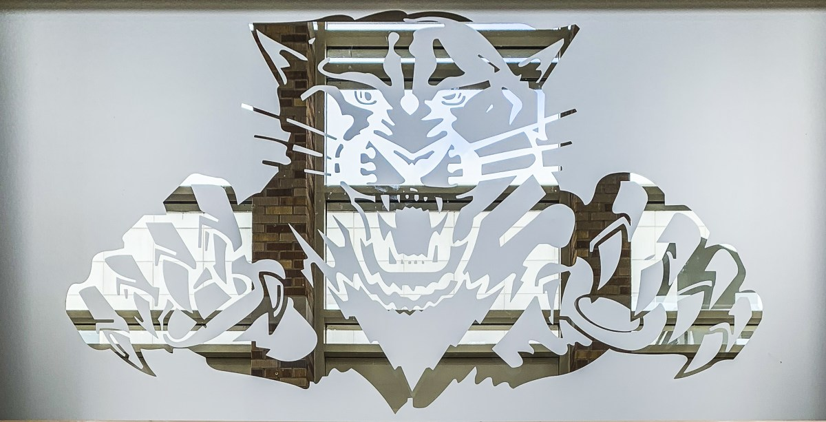 Libertyville High School Frosted Window Graphic