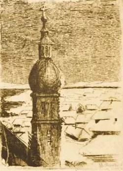 XXIV Vilniaus Aukcione pristatomas M. K. Čiurlionio fluorofortas