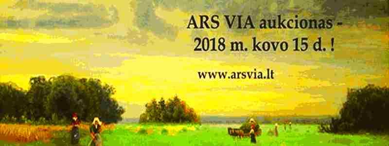 4-asis Ars Via aukcionas. Vladislovo Dmachausko sugrįžimas
