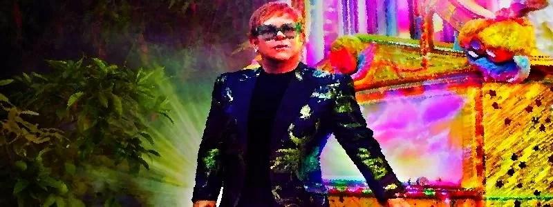 Eltonas Johnas ir miškas įspūdinguose pašto ženkluose