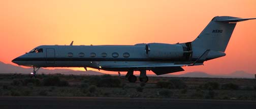 "The image ""https://i0.wp.com/www.air-and-space.com/20040621%20Mojave/DSC_1339%20Gulfstream%20IV%20N5NG%20left%20side%20landing%20m.jpg"" cannot be displayed, because it contains errors."