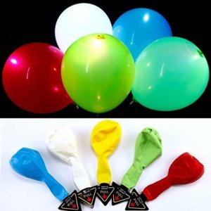 ballons lumineux couleur