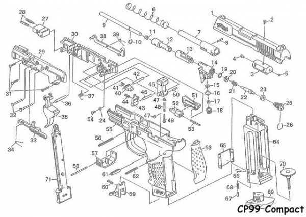 Купить Пневматический пистолет вальтер Umarex Walther CP99