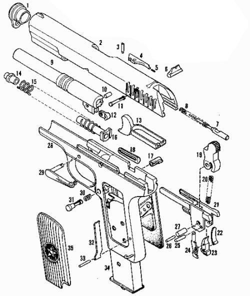 Пневматический пистолет МР-656 ТТ 4,5 мм — купить в Москве