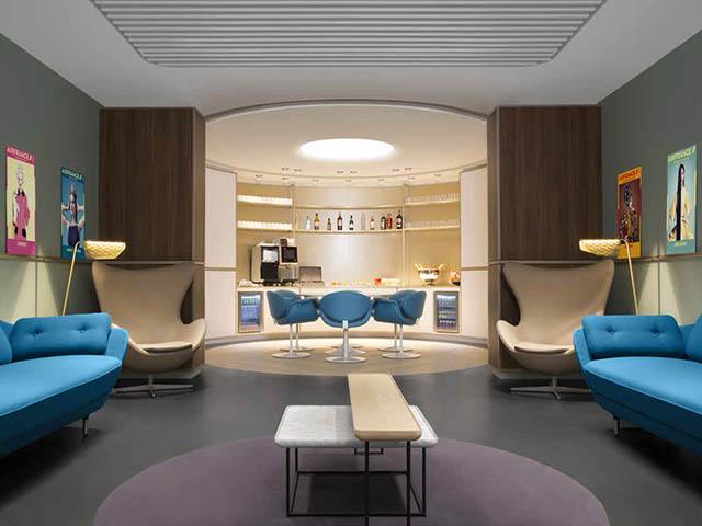 Le nouveau salon Air France  ParisCDG 2EL photos  Air Journal
