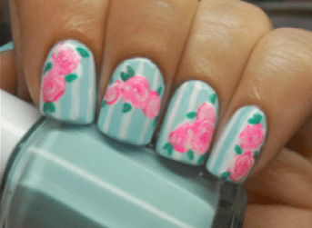 "Margaret. ""Holy Manicures: Spring Rose Nails."" Holy Manicures: Spring Rose Nails. Blogspot, 4 Mar. 2012. Web. 23 Feb. 2016."