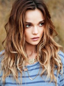 ombre-natural-wavy-hairstyles-2016