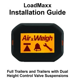installation guide for full trailers and trailers with dual hcv suspensions [ 1650 x 2525 Pixel ]
