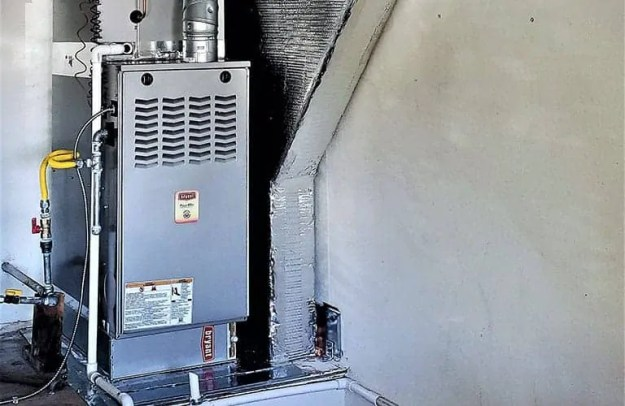 San Jose Furnace Installation