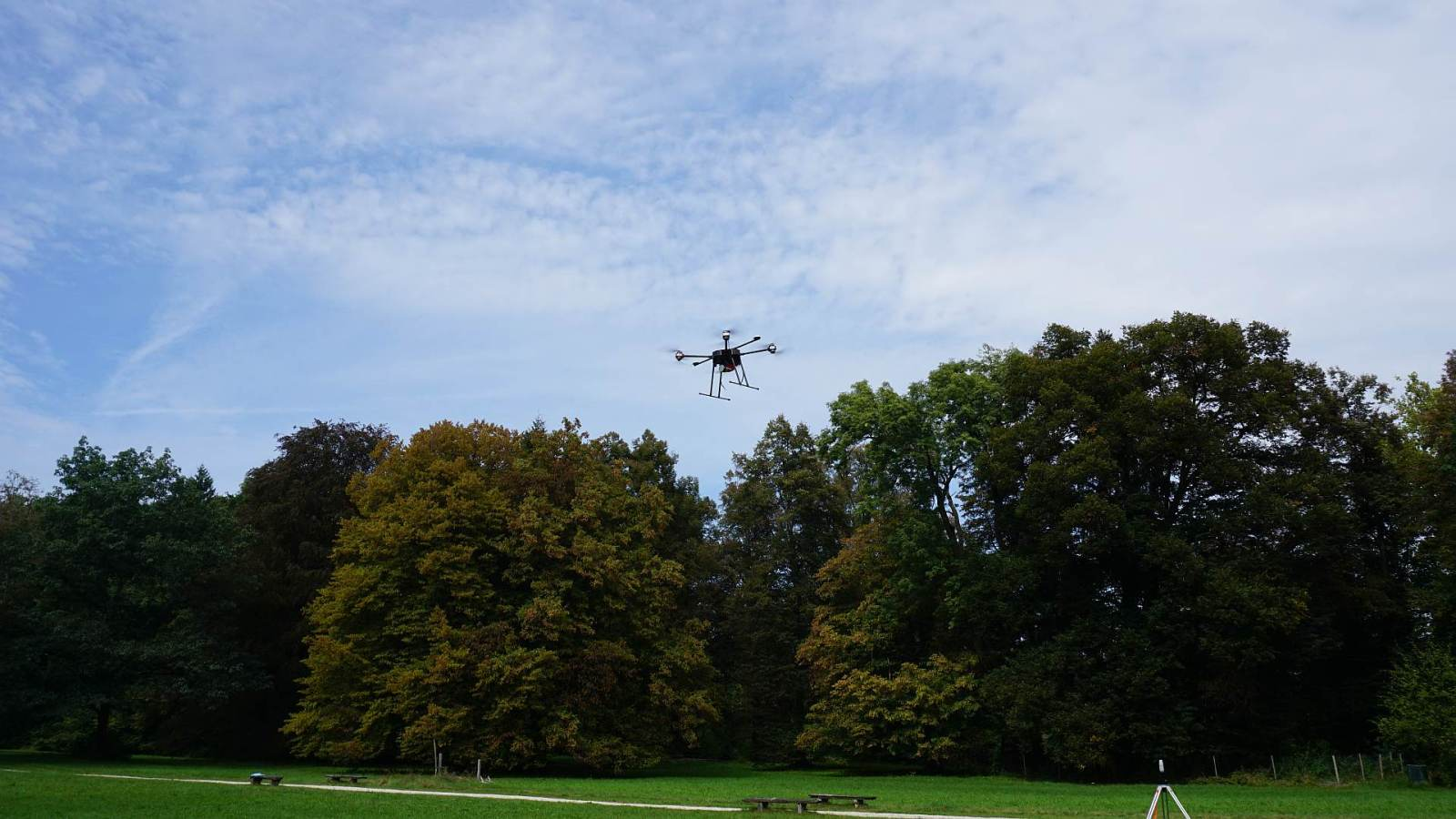 High-performance drone technology