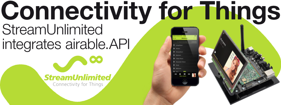 StreamUnlimited embeds airable.API