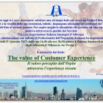 The Value of Customer Experience