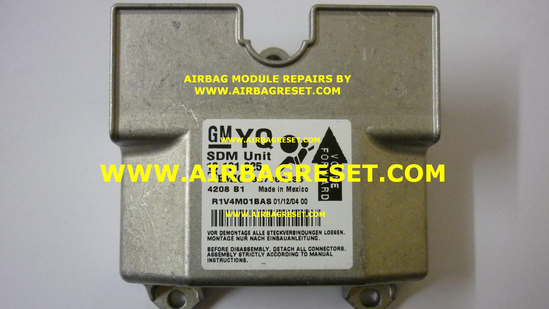 hight resolution of vauxhall astra airbag module