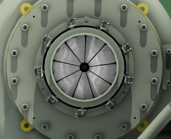 Compressor Inlet Guide Vanes