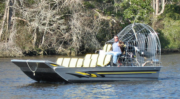 Waccamaw Cooter Airboat