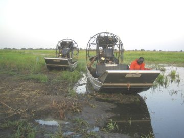 Airboat = Sumpfboot