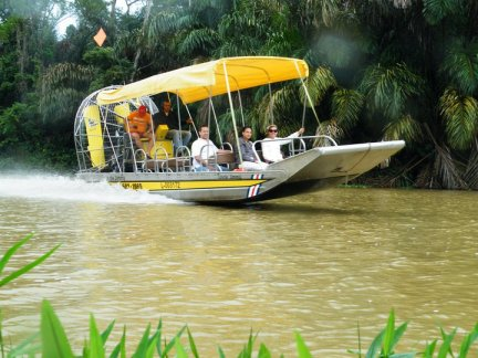 Airboat Expeditions - Costa Rica
