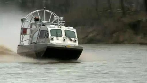 Airboat tested for water rescue
