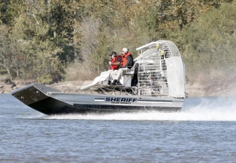 Tulsa County Sheriff's Office new search & rescue airboat