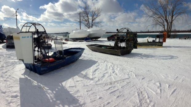 Boblo Island  airboats