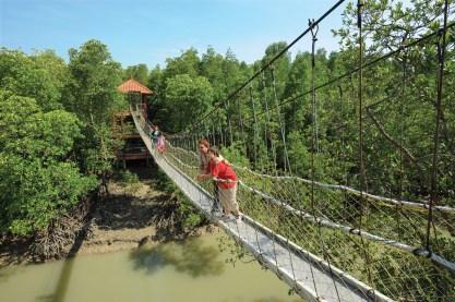 Kukup Island Bridge