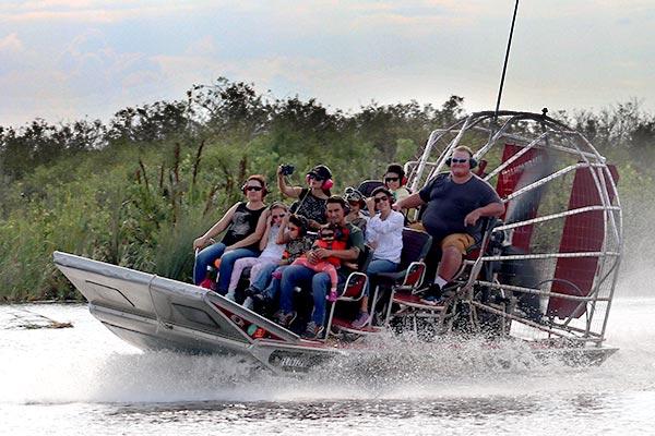 full circuit vip everglades airboat ride