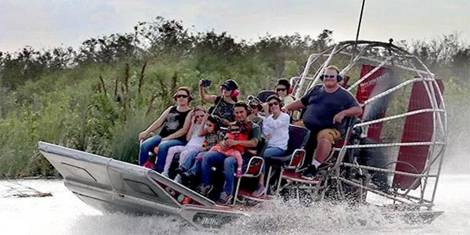benefits private airboat ride 01